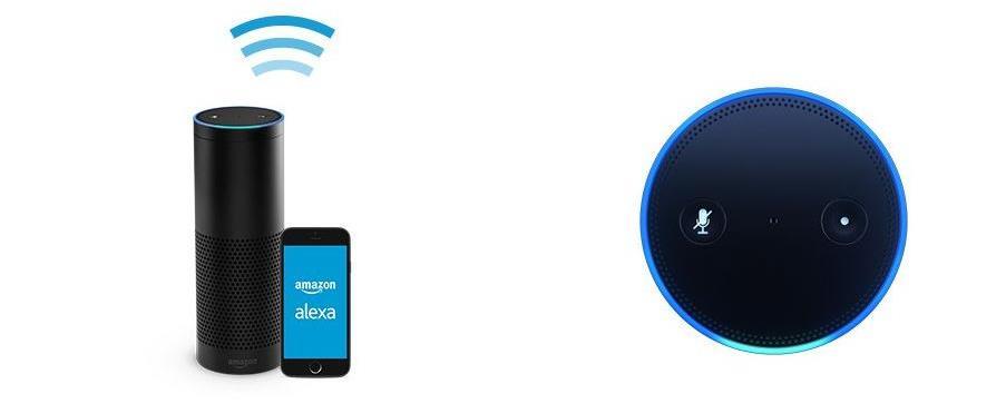 Alexa Amazon echo im Einsatz